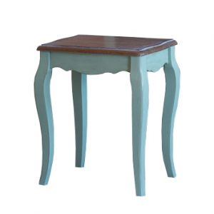 """Табурет к макияжному столику Mobiler de Maison Bleu aquamarine """"Морской голубой"""""""