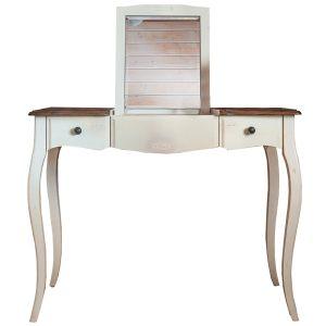 """Макияжный столик с зеркалом Mobiler de Maison Blanc bonbon """"Белая карамель"""""""