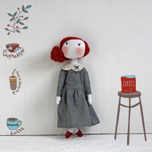 Кукла ручной работы Иза