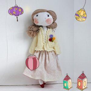 Кукла ручной работы Лили