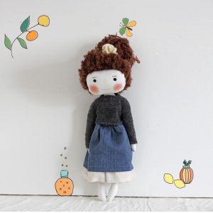 Кукла ручной работы Нисса