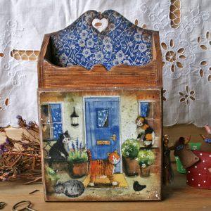 Ключница Кошкин дом