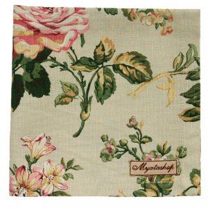 """Текстильная салфетка """"Жухлые розы"""""""