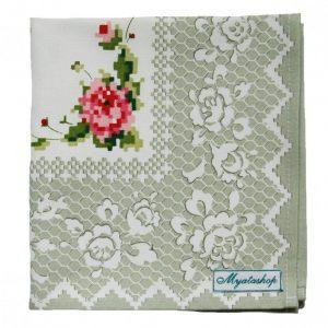 """Текстильная салфетка """"Деревенская роза"""""""