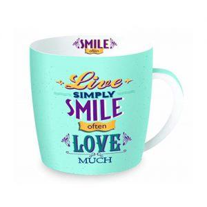 """Чайная кружка """" Simply Smile"""""""