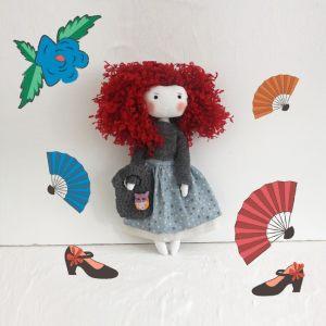 Кукла ручной работы Солеа