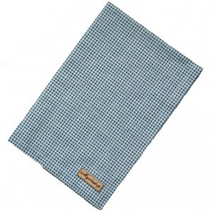 Кухонное полотенце в синюю клетку