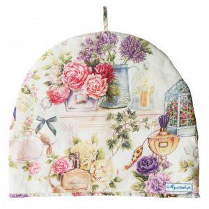 Чехол на чайник розовый парфюм