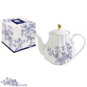 Чайник Роял BLUE PEONIES (синие цветы)