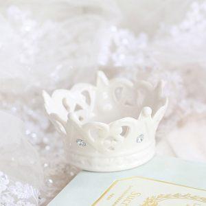 Керамическая вазочка - корона