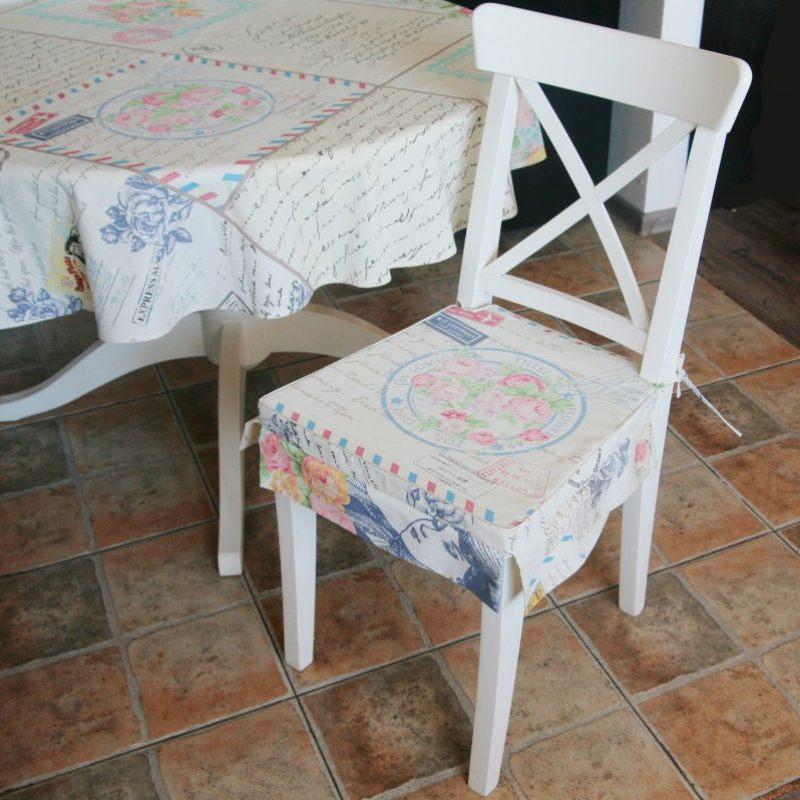 Сшить сидушки на стулья
