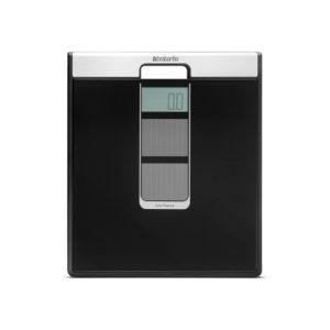 Весы для ванной комнаты на солнечных батареях Brabantia – Black (черный)