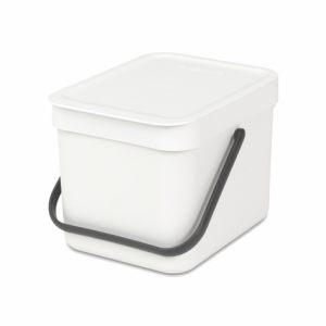 Ведро для мусора Brabantia SORT&GO - White (белый)