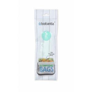 Пакет пластиковый биоразлагаемый, S 10л 10 шт.