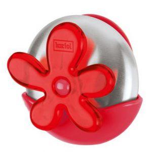 Металлическое мыло A-PRIL Koziol, клубничный/прозрачный красный