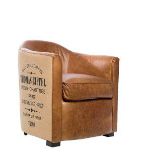 Кожаное кресло Thomas Eiffel