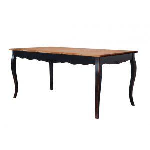 Раскладной обеденный стол Saphir noir