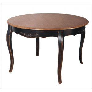 Стол круглый обеденный Saphir noir