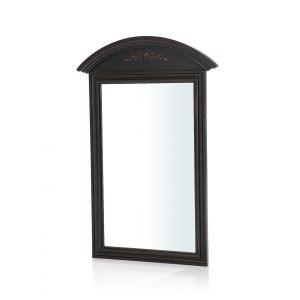 Зеркало настенное с полукруглым верхом Saphir noir