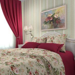 Комплект постельного белья Жухлые розы