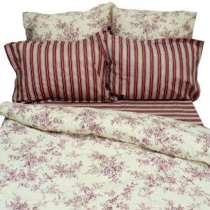 Комплект постельного белья Классика бордо