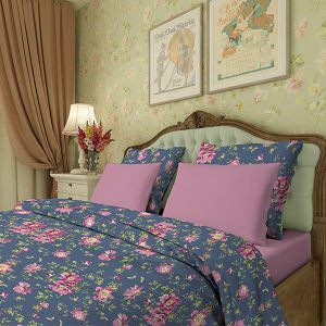 Комплект постельного белья Пионы