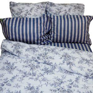 Комплект постельного белья Классика синий