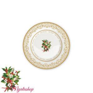 Тарелка десертная Christmas holly