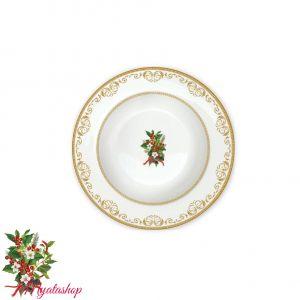 Тарелка суповая Christmas holly