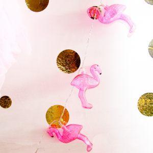 Гирлянда Розовый фламинго