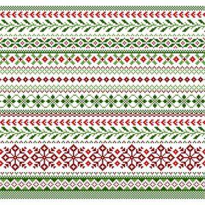 Полотенце Рождественская геометрия