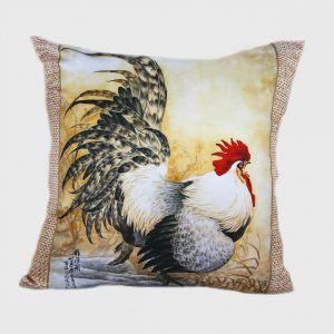 Декоративная подушка Петух