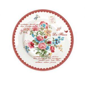 Тарелка обеденная 26,5 см Таинственный сад