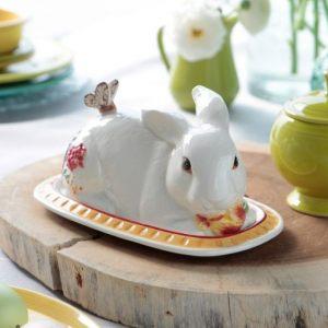 """Масленка Кролик """"Цветочный базар"""""""