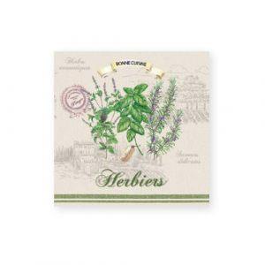 Салфетки бумажные Herbiers