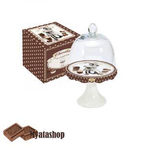 Кейкстенд для пирожного Vintage chocolate