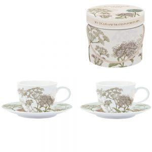 Набор чайных пар Botanica 240 мл