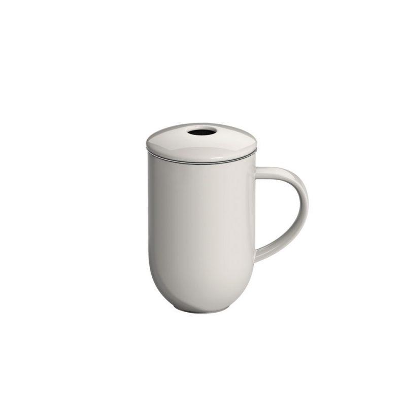 Кружка с ситечком  LOVERAMICS  PRO TEA 450 мл белый