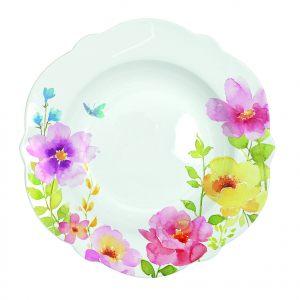 Суповая тарелка Water colours 23 см