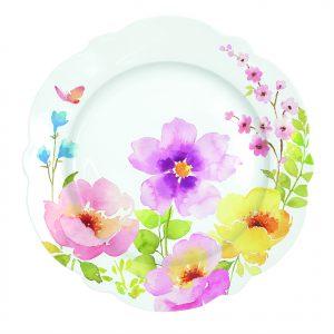 Десертная тарелка Water colours 20 см