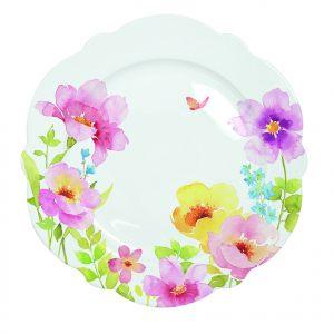 Обеденная тарелка Water colours 26 см