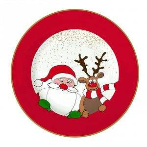 Тарелка десертная Christmas friends 19 см