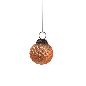 Новогодняя игрушка Оранжевый шар