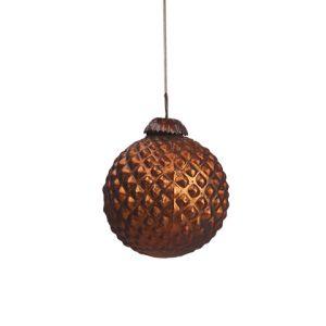 Новогодняя игрушка Бронзовый шар