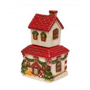 """Набор для специй """"Дом перед Рождеством"""""""