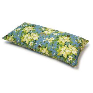 Наволочка 30*60 + подушка голубая