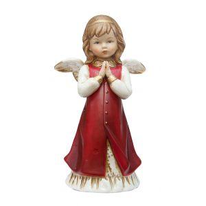 Ангел молебен (красн) 17,5 см