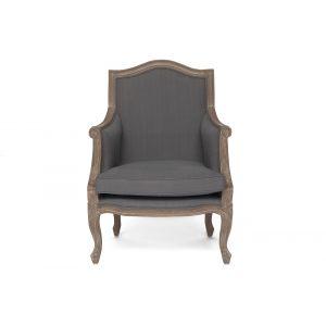 Кресло Secret De Maison Marie серое