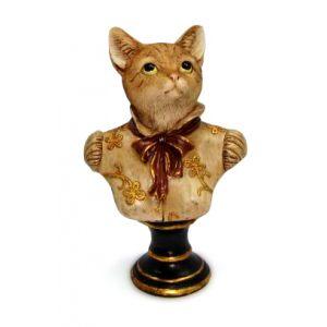 Кошка на подставке 25 см