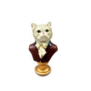 Кошка на подставке 17 см